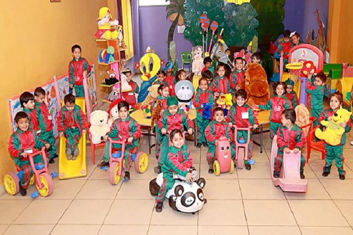 Green Land Senior Secondary Public School-Toys Room