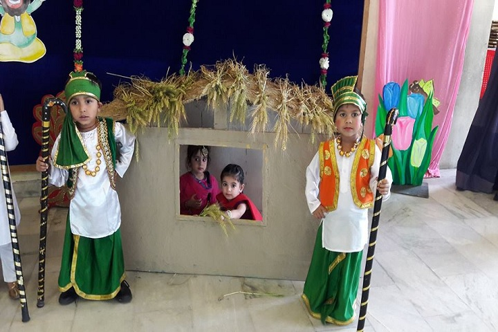 Green Land Convent School-Baisakhi Celebration