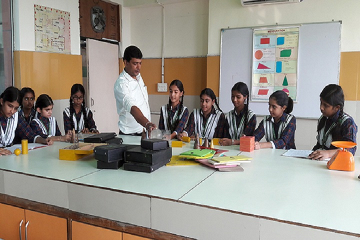 Green Land Convent School-Maths Lab