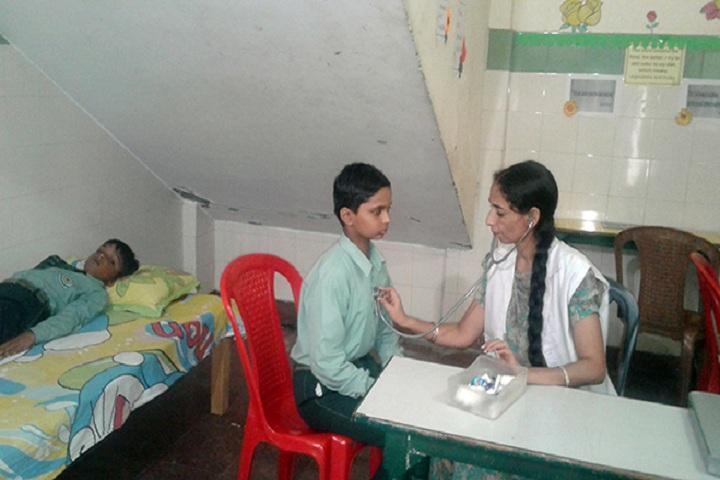 Green Land Convent School-Medical Facility