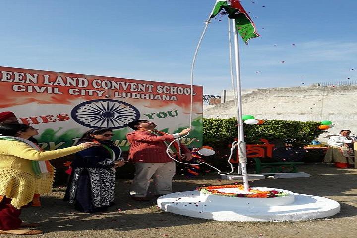 Green Land Convent School-Republic Day Celebration