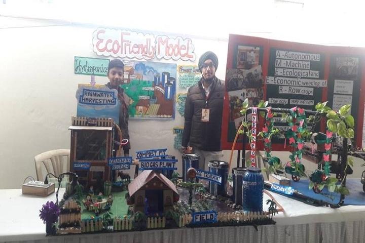 Green Land Convent School-Science Exhibition