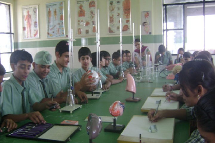 Green Land Convent School-Science lab