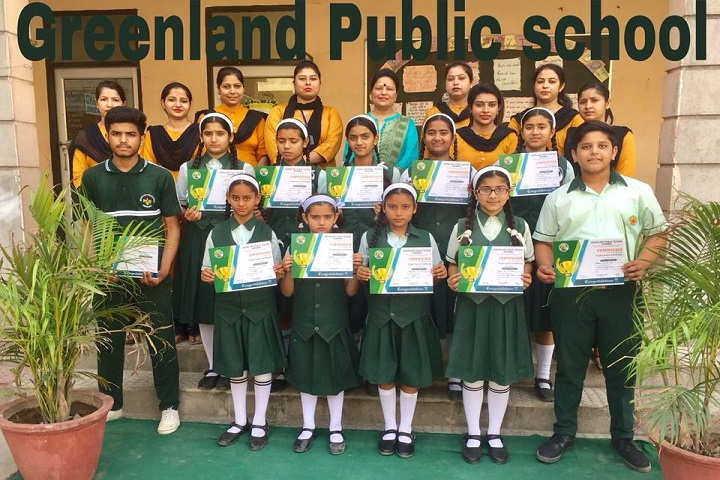 Green Land Public School-Awards