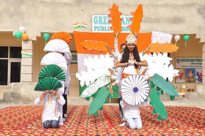 Green Land Public School-Republic Day
