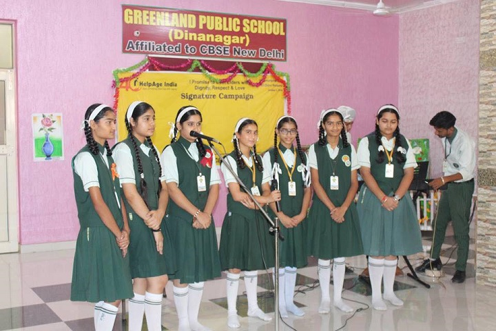 Green Land Public School-Singing