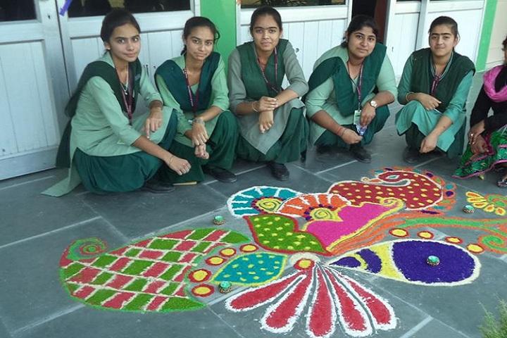 Greenways School-Rangoli Competition