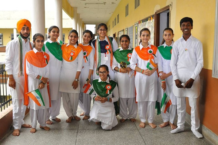 Gujrawala Guru Nanak Public School-Republic Day Celebrations