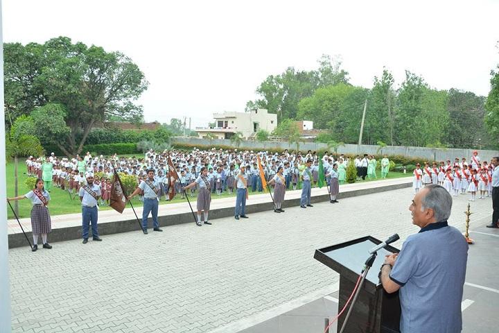 Gurdaspur Public School-Assembly