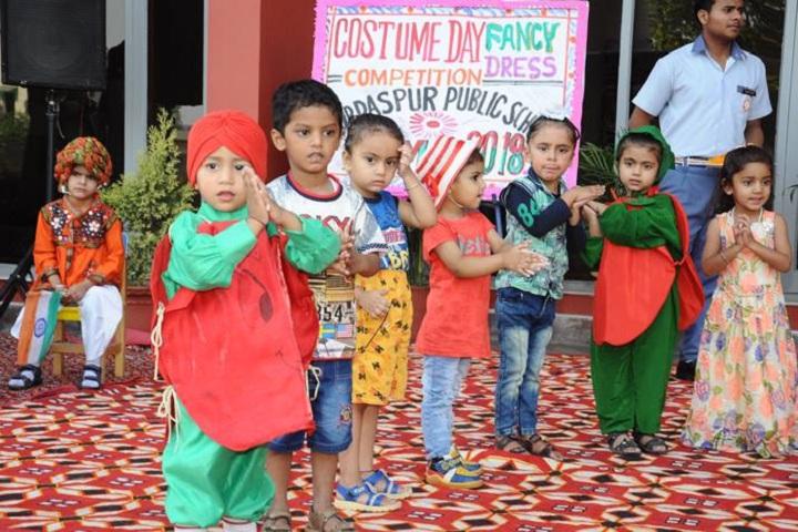 Gurdaspur Public School-Fancy Dress event