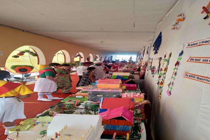 Guru Amar Dass Adarsh Institute-Art and Craft Exhibition