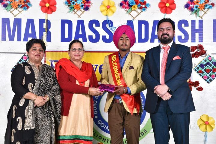 Guru Amar Dass Adarsh Institute-Farewell Day Celebration