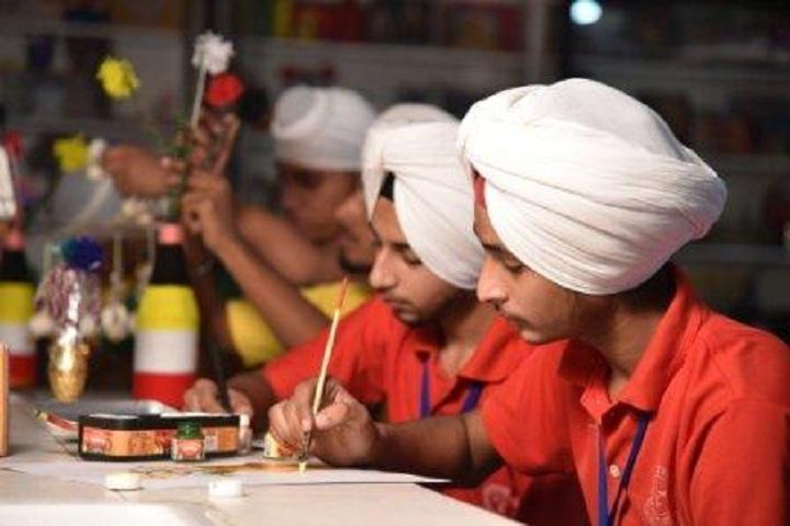 Guru Amar Dass Public School-Crafts
