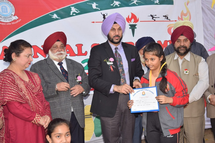 Guru Amar Dass Public School-Sports Meet