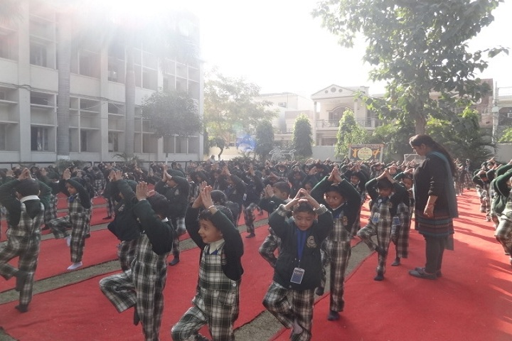 Guru Amar Dass Public School-Yoga Day