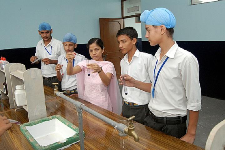 Guru Angad Dev Public School-Chemistry Lab