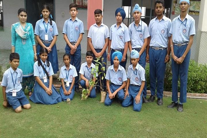 Guru Gobind Singh Academy-Tree Plantation