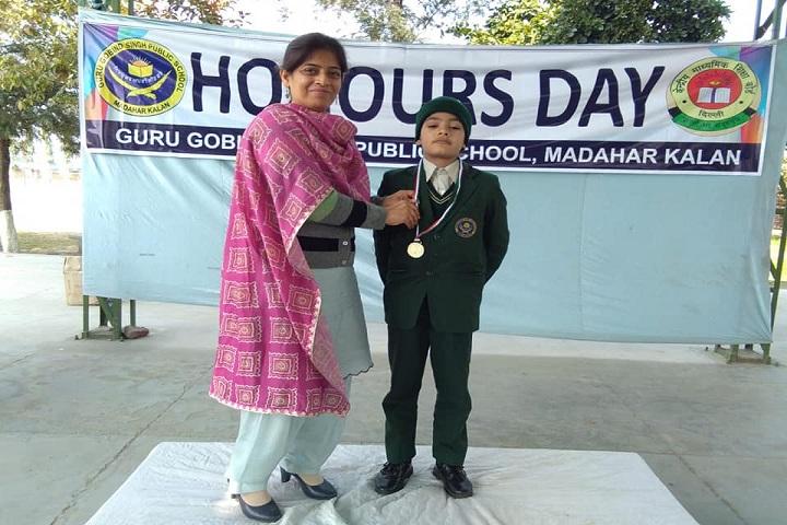 Guru Gobind Singh Public School-Honours Day