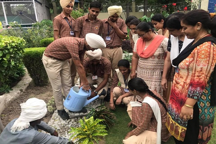 Guru Gobind Singh Vidya Mandir Senior Secondary School-Tree Plantation