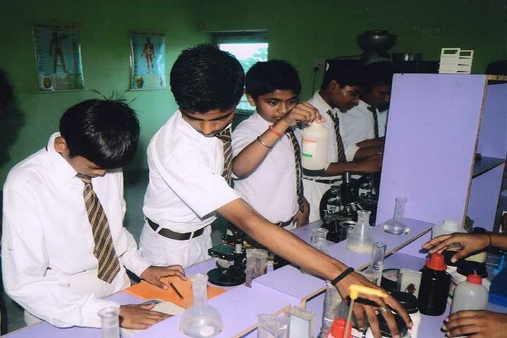 Holy Public School-Chemistry Lab
