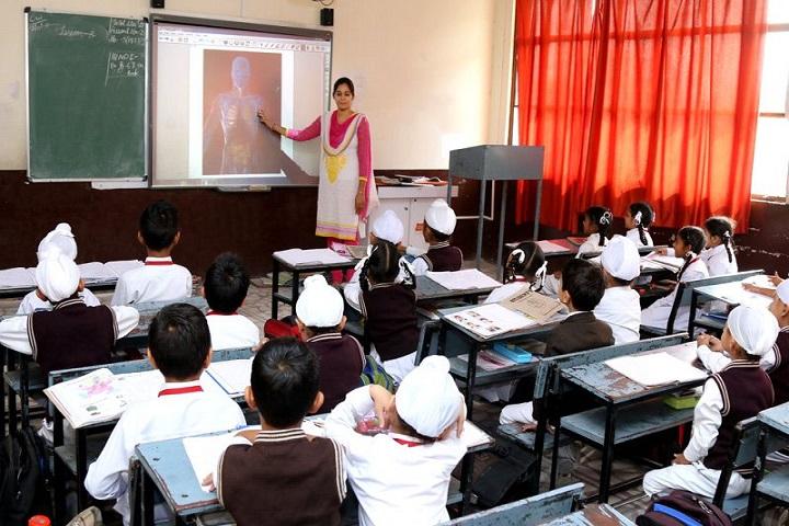 Guru Harkrishan Public School-Class Room