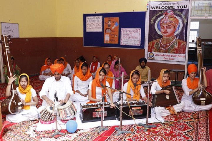 Guru Harkrishan Public School-Music Room