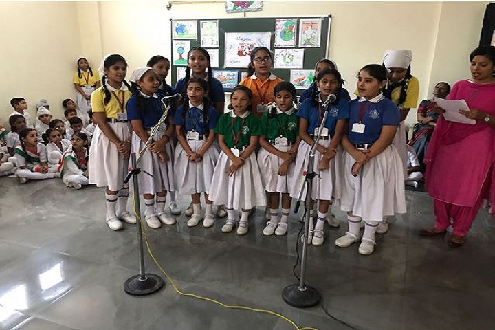 Guru Harkrishan Public School-Singing