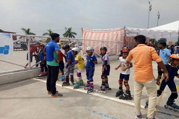 Guru Harkrishan Public School-Skating