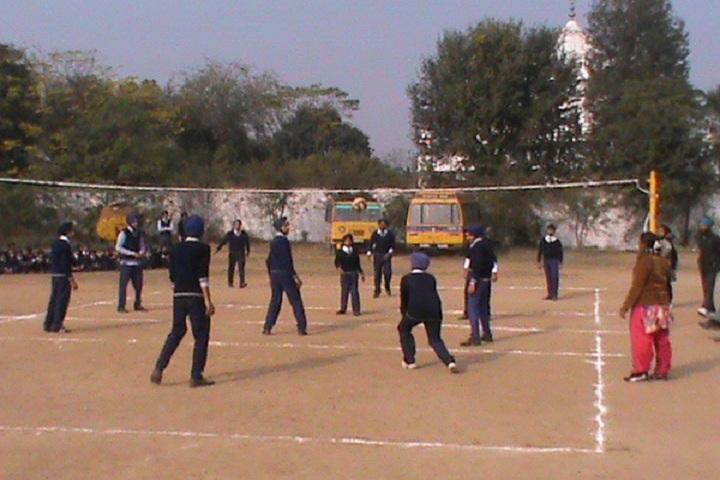 Guru Nanak Dev Academy-Outdoor Games