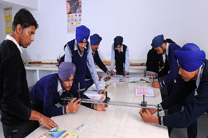 Guru Nanak Dev Academy-Physics lab
