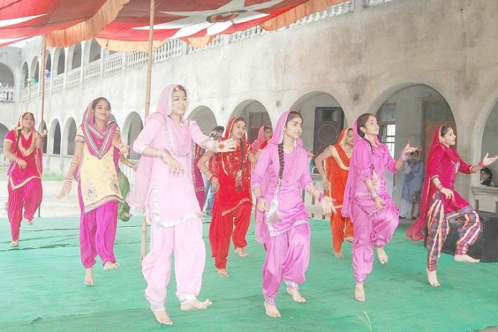Guru Nanak Dev Public School-Events dance