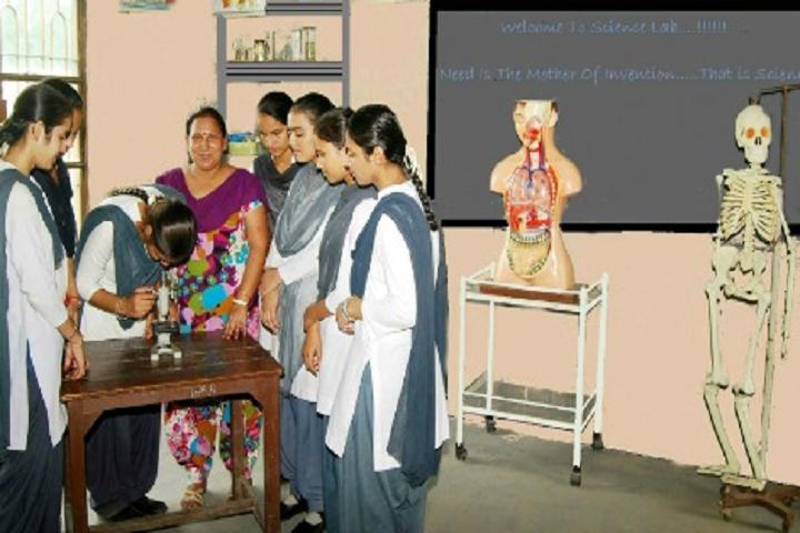 Guru Nanak Dev Public School-Laboratory