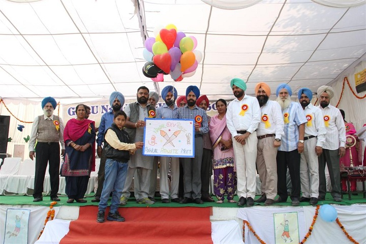Guru Nanak Dev Public School-Arts Compitetion