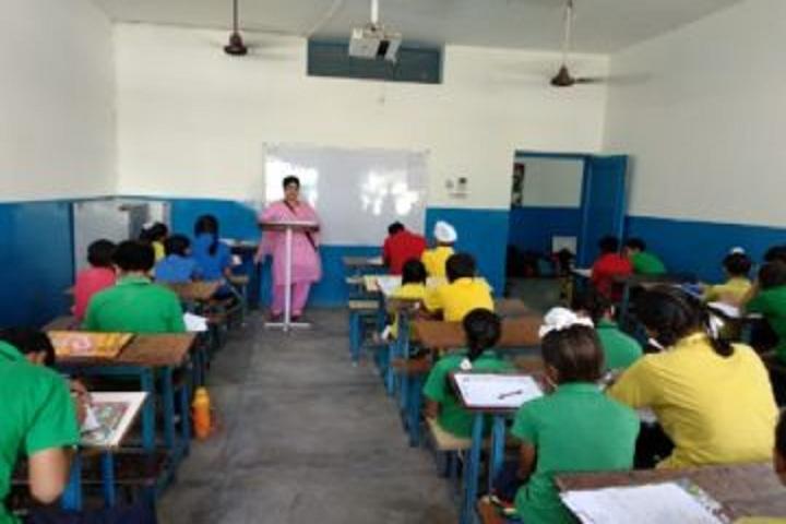 Guru Nanak Dev Public School-Classroom