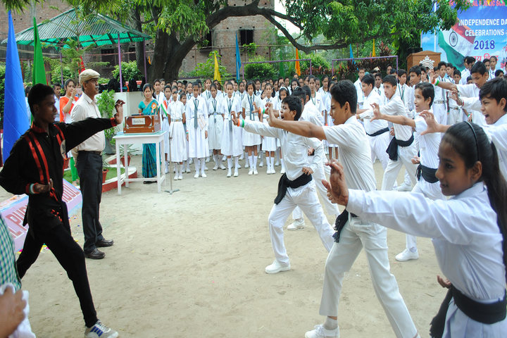 Hr Imperial Public School-Karate