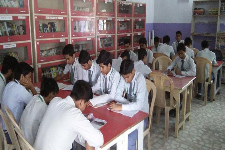 Hr Imperial Public School-Library