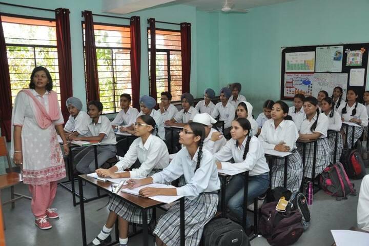 Guru Nanak Foundation Public School-Classroom