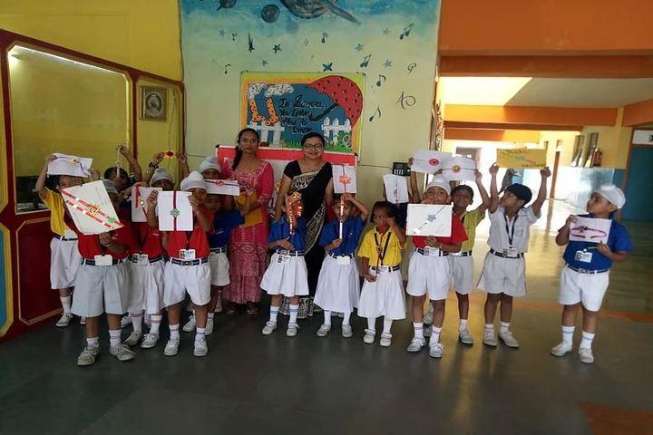Guru Nanak Foundation Public School-Rakhi Celebration