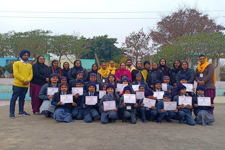 Guru Nanak International School-certification presentation