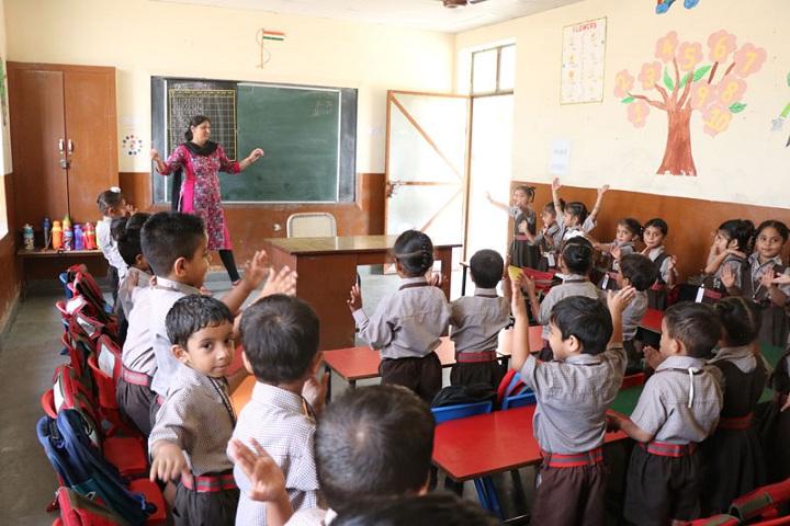 Guru Nanak Mission Public Senior Secondary School-Classroom