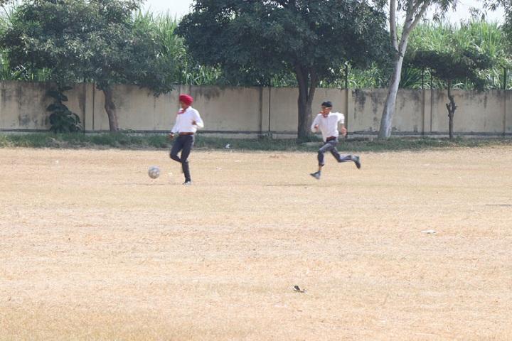 Guru Nanak Mission Public Senior Secondary School-Play Ground