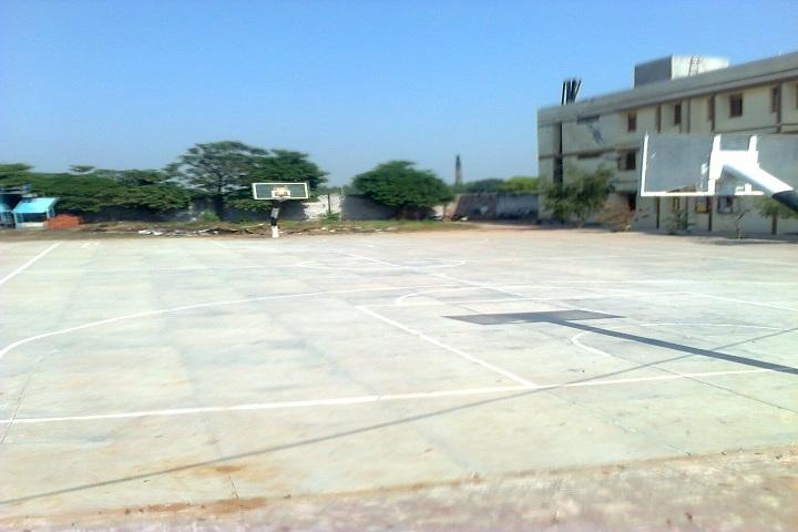 Guru Nanak Public School-Basket Ball Court