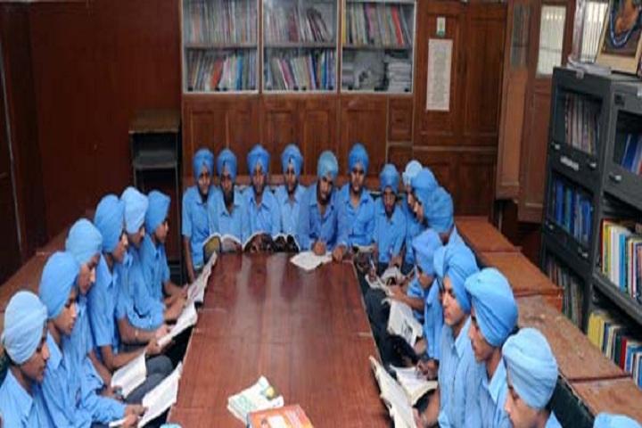Guru Ram Dass Public School-Library