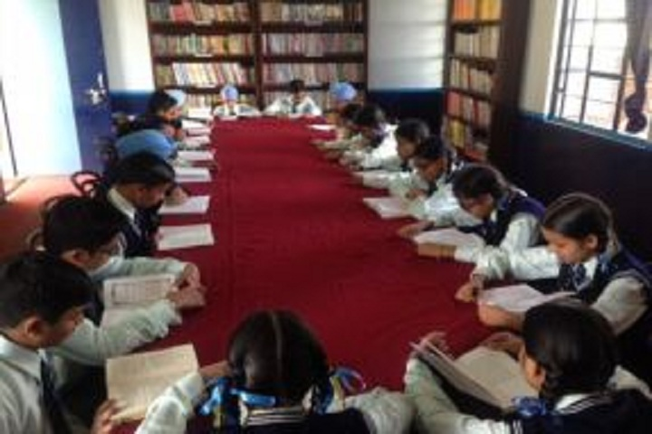 Guru Ram Dass Senior Secondary School-Library