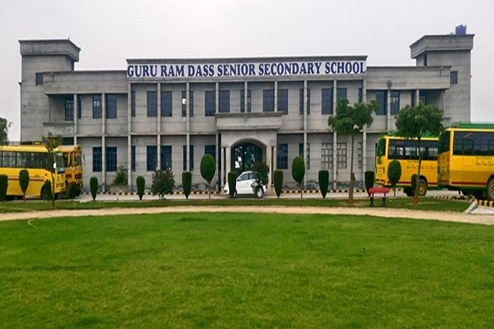 Guru Ram Dass Senior Secondary School-School Building
