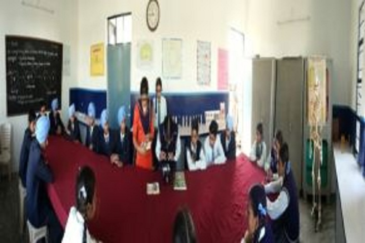 Guru Ram Dass Senior Secondary School-Science Lab