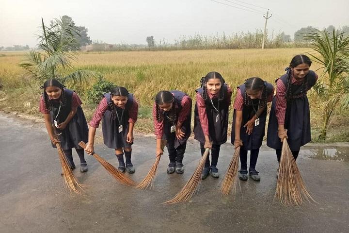 Guru Sagar Public School-Clean and Green Event