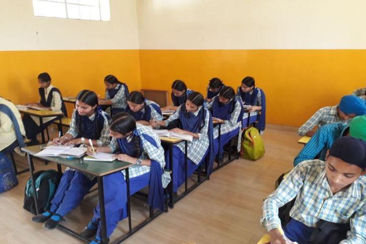 Guru Sagar Public School-Classroom
