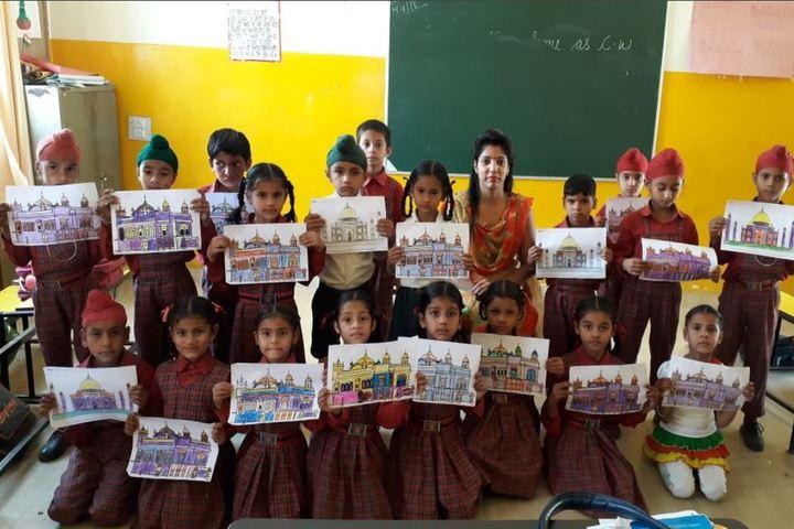 Guru Sagar Public School-Drawing Competition