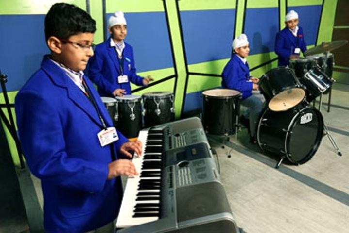 Gurukul World School-Music